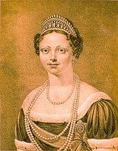 Königin Katharina im Jahr 1817 (Quelle: Wikimedia)