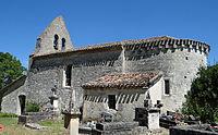 Cauzac - Église Saint-Clair -1.JPG