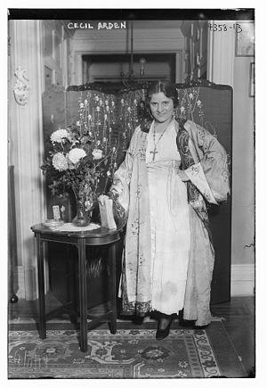 Cecil Arden - Arden in 1917