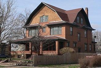 National Register of Historic Places listings in Finney County, Kansas - Image: Cedar Cliff (Garden City KS) from NE 1