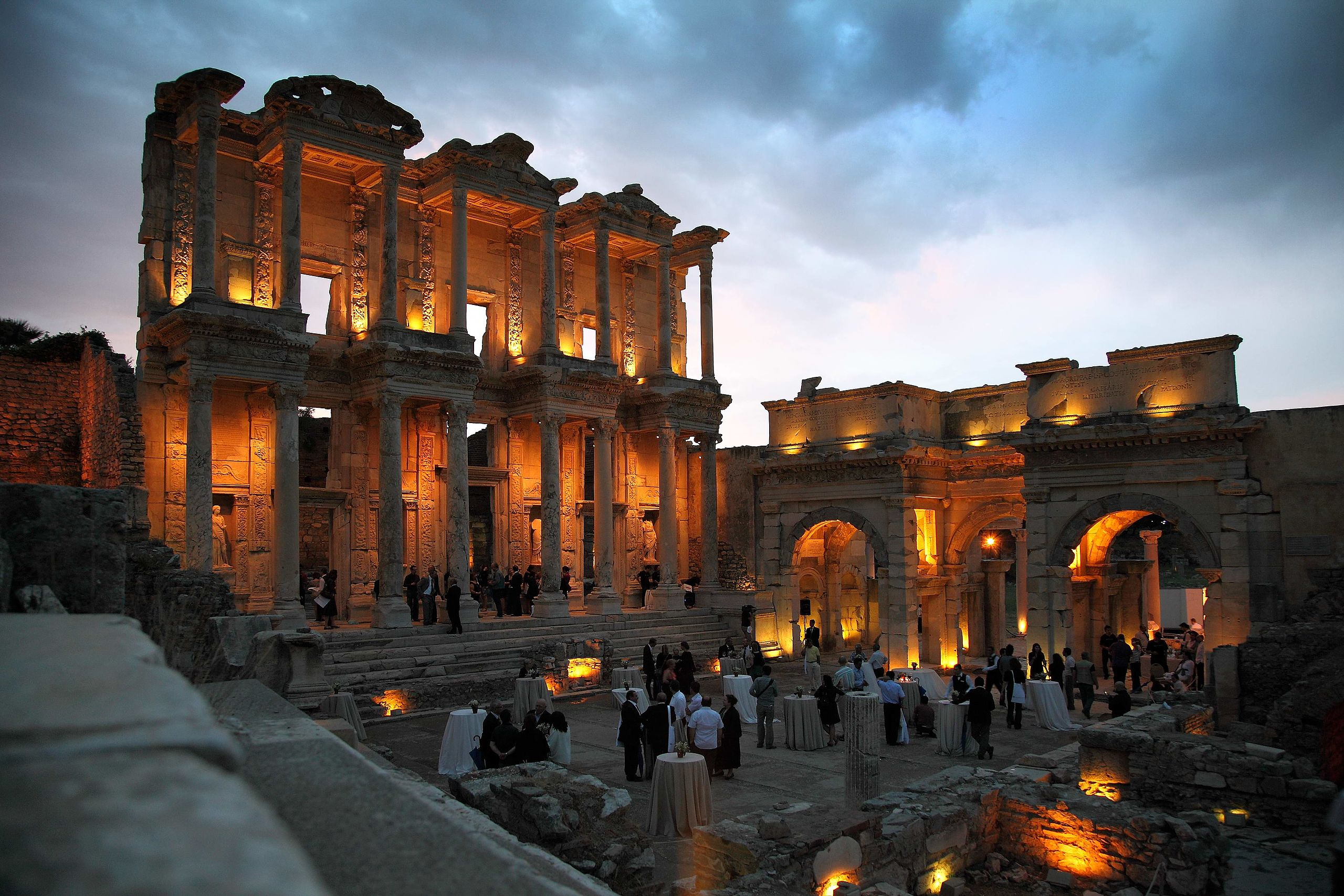 Library of Celsus - provided under Creative Commons