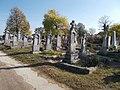Cemetery, old gravestones, 2019 Etyek.jpg
