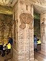 Central Hall, Temple of Hathor and Nefertari, Abu Simbel, AG, EGY (48016774598).jpg