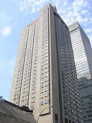 Le Centre Sheraton Hotel - Image: Centre Sheraton