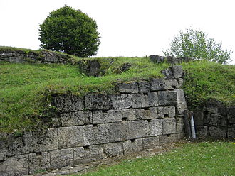 Dacian warfare - Remains of the Fortress of Blidaru.