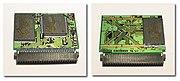 Eine 256 MB CompactFlash-Typ-I-Karte von innen.