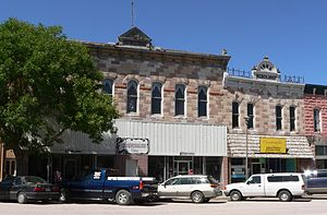 National Register of Historic Places listings in Dawes County, Nebraska - Image: Chadron, Nebraska 225 229 Main