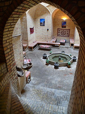 Teahouse - A Chaikhaneh (teahouse) in Yazd