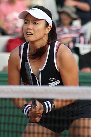 Chan Yung-jan - Chan at the 2016 French Open