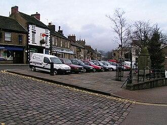 Market square - Image: Chapel en le Frith