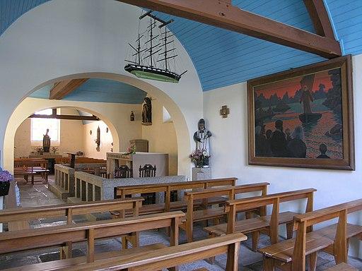 Chapelle St-Guirec à Ploumanac'h (Perros-Guirec)