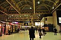 Charing Cross station, interior at night - geograph.org.uk - 1201353.jpg