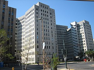 Charity Hospital (New Orleans) - Charity Hospital Building