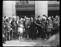 Charles Curtis with group; Native Americans LCCN2016888945.jpg