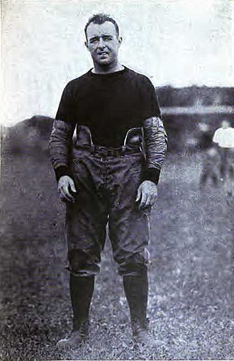 1912 College Football All-America Team - Charles Brickley of Harvard.