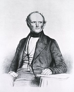 Portrait of Sir Charles Lyell (1797—1875).