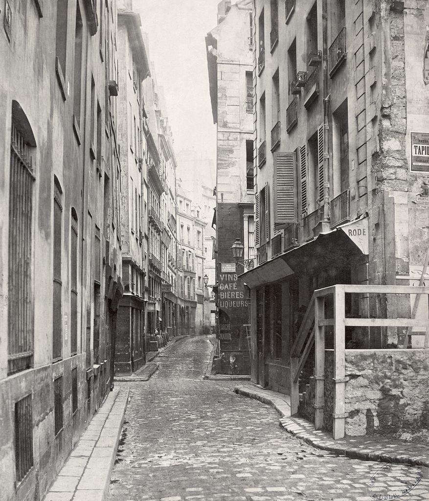 fichier charles marville rue de l 39 arche marion du quai de la m gisserie ca 1853. Black Bedroom Furniture Sets. Home Design Ideas