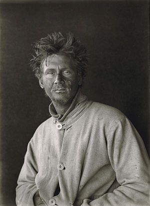 C. S. Wright - C. S. Wright in January 1912, taken by Herbert Ponting