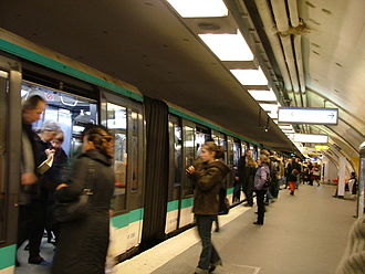 RATP Group - Paris Métro station at Charles de Gaulle - Étoile