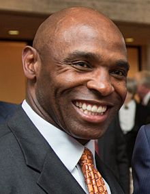 Charlie Strong at LBJ Library in 2014.jpg