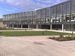 University of Brighton - The Checkland Building at Falmer campus opened in 2009