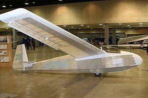 Hall Cherokee II - Cherokee II on display at 2010 SSA Convention