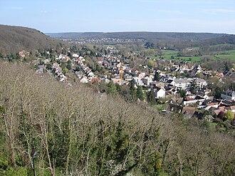 Vallée de Chevreuse - Image: Chevreuse Valley 1
