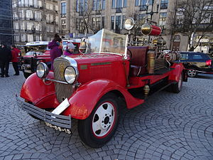 Chevrolet - 1929 Chevrolet Firebrigade, Porto