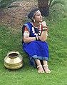 Chhattisgarhi girl in Chhattisgarhi saree 2.jpg
