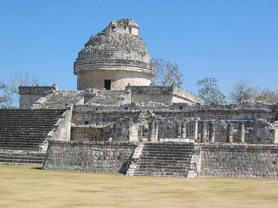Chichen Itza ruins in Mexico -- by John Romkey