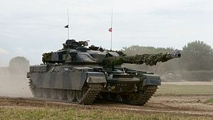 Chieftain (tank) - Image: Chieftain Tank (9628802829)