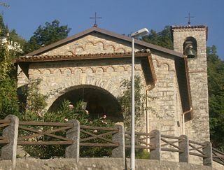 Aldesago Village in Ticino, Switzerland