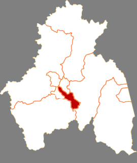 Dongan District District in Heilongjiang, Peoples Republic of China