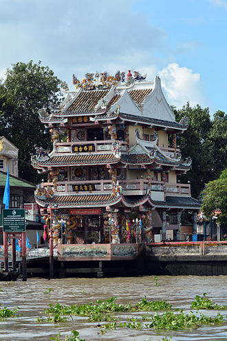 Chao Phraya River - China House on the Chao Phraya River