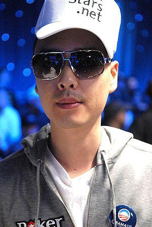 David Rheem - Chino Rheem at the 2008 World Series of Poker