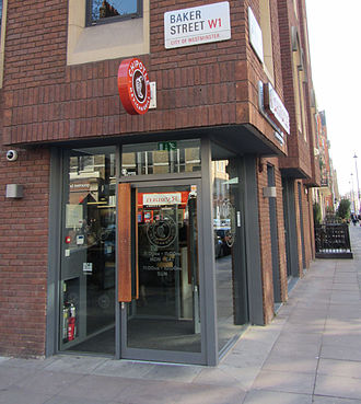 Chipotle Mexican Grill - The second Chipotle Mexican Grill location in London, located on Baker Street