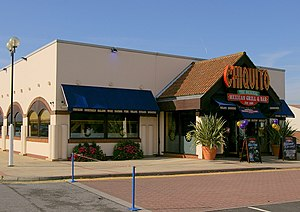 Chiquito (restaurant) - Typical Chiquito's standalone unit development, Kingston-upon-Hull with the previous logo.