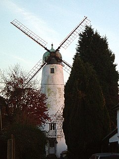 grade II listed windmill in the United kingdom
