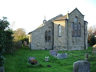 Christ Church, Glasson Church in Lancashire, England