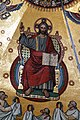 Christ Pantocrator detail of the Dome's mosaic - Palatine Chapel - Aachen - Germany 2017.jpg