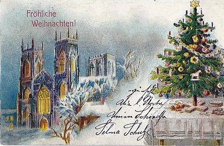 Auguri Buon Natale In Tedesco.Natale In Germania Wikiwand