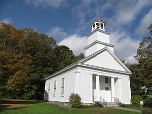 South Woodstock, Vermont - Image: Church, South Woodstock, Vermont