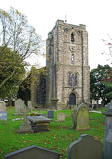 St John the Evangelists Church, Worsthorne Church in Lancashire, England