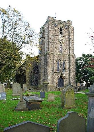 Worsthorne - Church of St. John the Evangelist, Worsthorne