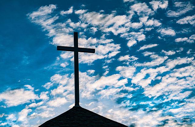 By Tony Webster from Half Moon Bay, California (Church Cross) [CC BY-SA 2.0], via Wikimedia Commons
