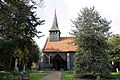 Church of St Mary and St Christopher's Church, Panfield - church from south, lighter photo.jpg