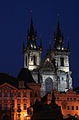 Church of our Lady before Tyn at Night 1 (2536662613).jpg