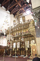 Church of the Nativity iconostasis 2010 8.jpg