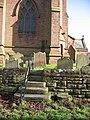 Churchyard Steps, Aldford. - geograph.org.uk - 330900.jpg