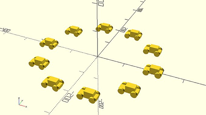 Circular pattern of ten cars.jpg